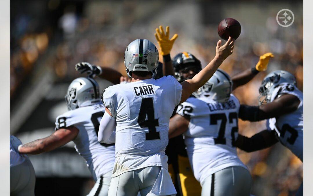 Pittsburgh Steelers – Las Vegas Raiders
