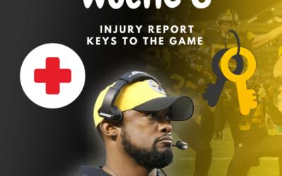 Woche 6: Injury Report /Keys